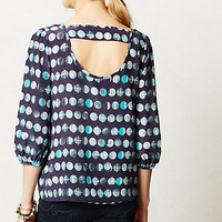 Moonphase Peasant Blouse