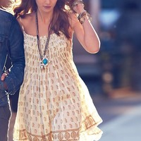Free People Free People FP ONE Imperial Palm Pintuck Dress