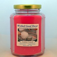 Glass Jar Candle - Cotton Candy