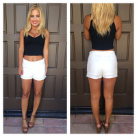 Top Deck Yacht Shorts - IVORY