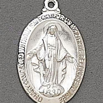 2 Religious Necklaces - Virgin Mary