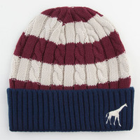 Lrg The Natural Beanie Navy Combo One Size For Men 23411421001
