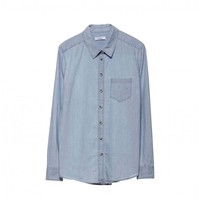 BRETTBLUE WASHED CHAMBRAY
