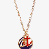 Nautical Charm Necklace | FOREVER 21 - 1023834939