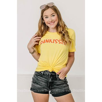 Sunkissed Bubble Letter Graphic Tee