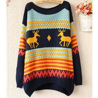 Vintage Fawn Pullover