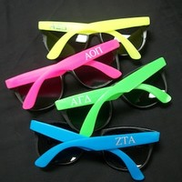 Greek Sunglasses for Sororities and Fraternities