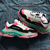 Alwayn Balenciaga Triple S new air cushion old shoes sneakers shoes