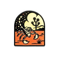 Desert Scorpion Pin (Glow-in-the-Dark)