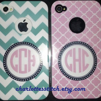 Personalized IPhone 4S Case - Monogrammed Designs