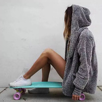 Brandy Melville Sweater Hats Winter Warm Jacket [9698943183]