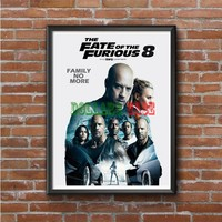 The Fast and Furious 8 Photo Poster 16x20 18x24