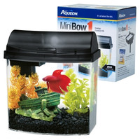 Aqueon Minibow Fish Tank Aquarium Kit 1 gal