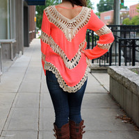 Orchard Sunset Blouse