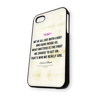 We've All Got Both Light Quotes iPhone 5/5S Case