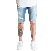 Crysp Denim Sapphire Shorts In Blue