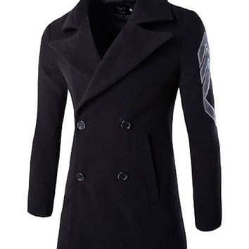 Vintage Replica Double Breasted Peacoat - 4 Colors