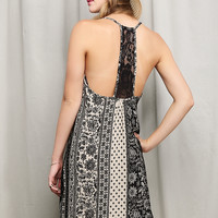 Ethnic Pattern Cami Dress