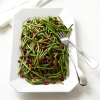 Green Beans with Cranberries & Pecans