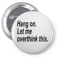 hang on Pin-back button