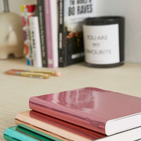 nuuna Copper Metallic Notebook - Urban Outfitters