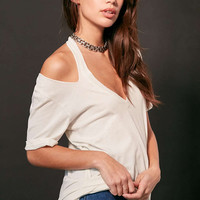 Truly Madly Deeply Nine Iron Halter T-shirt - Urban Outfitters
