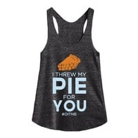 Athletic Tri Black Tank | Funny Orange Is The New Black Shirts