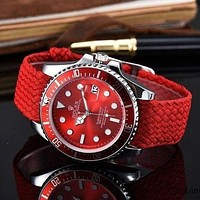 Rolex Ladies Men Fashion Quartz Watches Wrist Watch-3