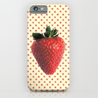 Fragola - for iphone iPhone & iPod Case by Simone Morana Cyla