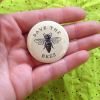 Save the Bees 1.5 Inch Pinback Button