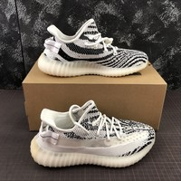adidas Yeezy Boost 350 V2 ZEBRA Running Shoes - Best Deal Online