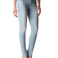 True Religion Halle Super Skinny Womens Jean - Breezy Meadows