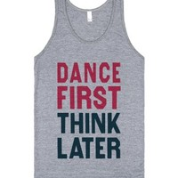 Athletic Grey Tank | Cool Party Shirts | Dancing