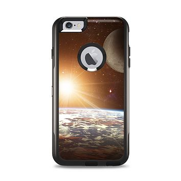 The Earth, Moon and Sun Space Scene Apple iPhone 6 Plus Otterbox Commuter Case Skin Set