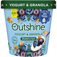 Instacart - Outshine Blueberry Açaí Frozen Yogurt