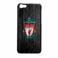 Liverpool FC Wood Style iPhone 5c Case