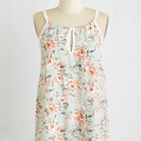 Pastel Mid-length Tank top (2 thick straps) Savvy Statistician Top