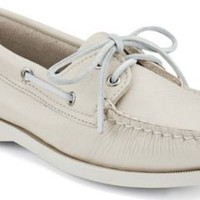 Sperry Top-Sider Authentic Original 2-Eye Boat Shoe Ice, Size 8.5W  Women's Shoes