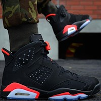 Air Jordan 6 ¡°Black Infrared¡± AJ6 Sneakers