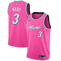 DWYANE WADE NIKE SUNSET VICE SWINGMAN JERSEY MIAMI HEAT