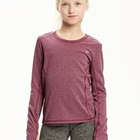 Fitted Go-Warm Thermal Tee for Girls | Old Navy