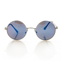 Round Spencer Sunglasses - Sunglasses at Pinkice.com