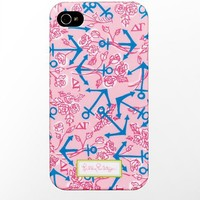 Lilly Pulitzer - iPhone 4/4s Cover- Delta Gamma