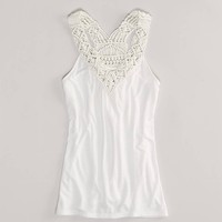 AE Woven Tank   American Eagle Outfitters