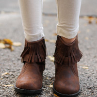 Hemingway Jr Bootie - Brown - Kids