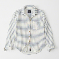 Womens Button-Up Shirt | Womens Mid-Season Sale | Abercrombie.com