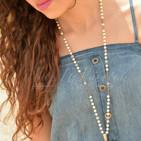 FOREVER FAITHFUL NECKLACE - GOLD
