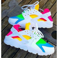 Custom Nike Air Huarache x Rainbow