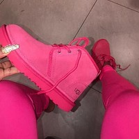 UGG new plush mid-cut couple snow boots Shoes