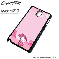 hello kitty For Samsung Note 3 Case Ali